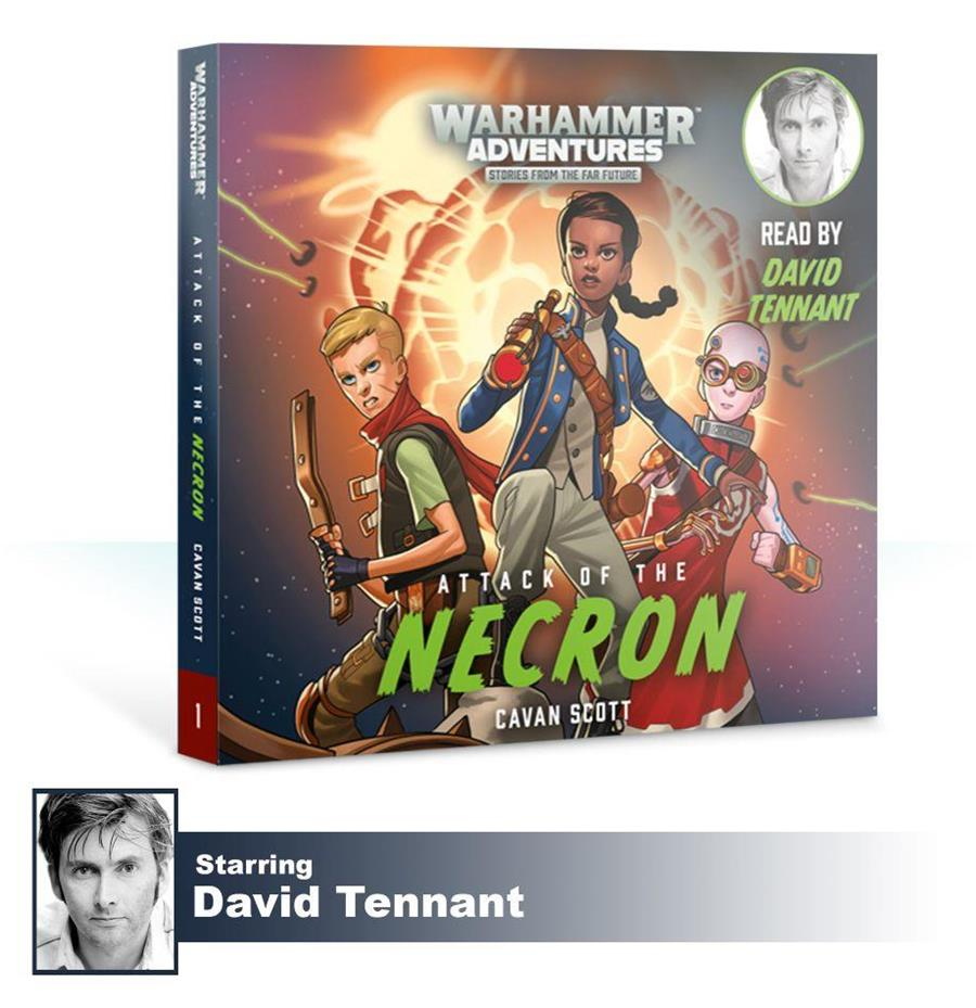 W/GALAXIES: ATTACK OF THE NECRON (AUDIO) | 9781784969226 | GAMES WORKSHOP | Llibreria El Cucut - Llibreria Online de L'Empordà - Comprar llibres