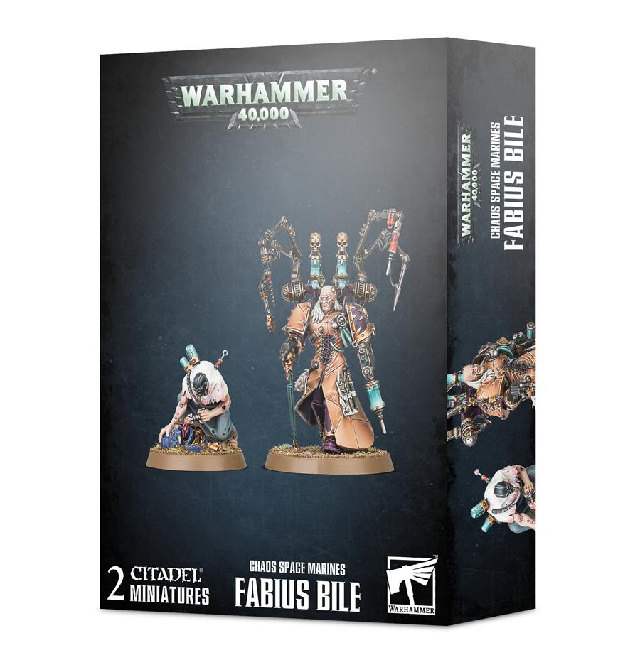 CHAOS SPACE MARINES: FABIUS BILE | 5011921133260 | GAMES WORKSHOP