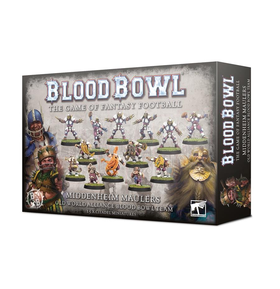 BLOOD BOWL: MIDDENHEIM MAULERS TEAM | 5011921133215 | GAMES WORKSHOP
