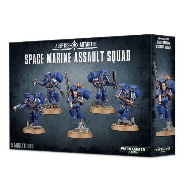 SPACE MARINE ASSAULT SQUAD | 5011921142439 | GAMES WORKSHOP