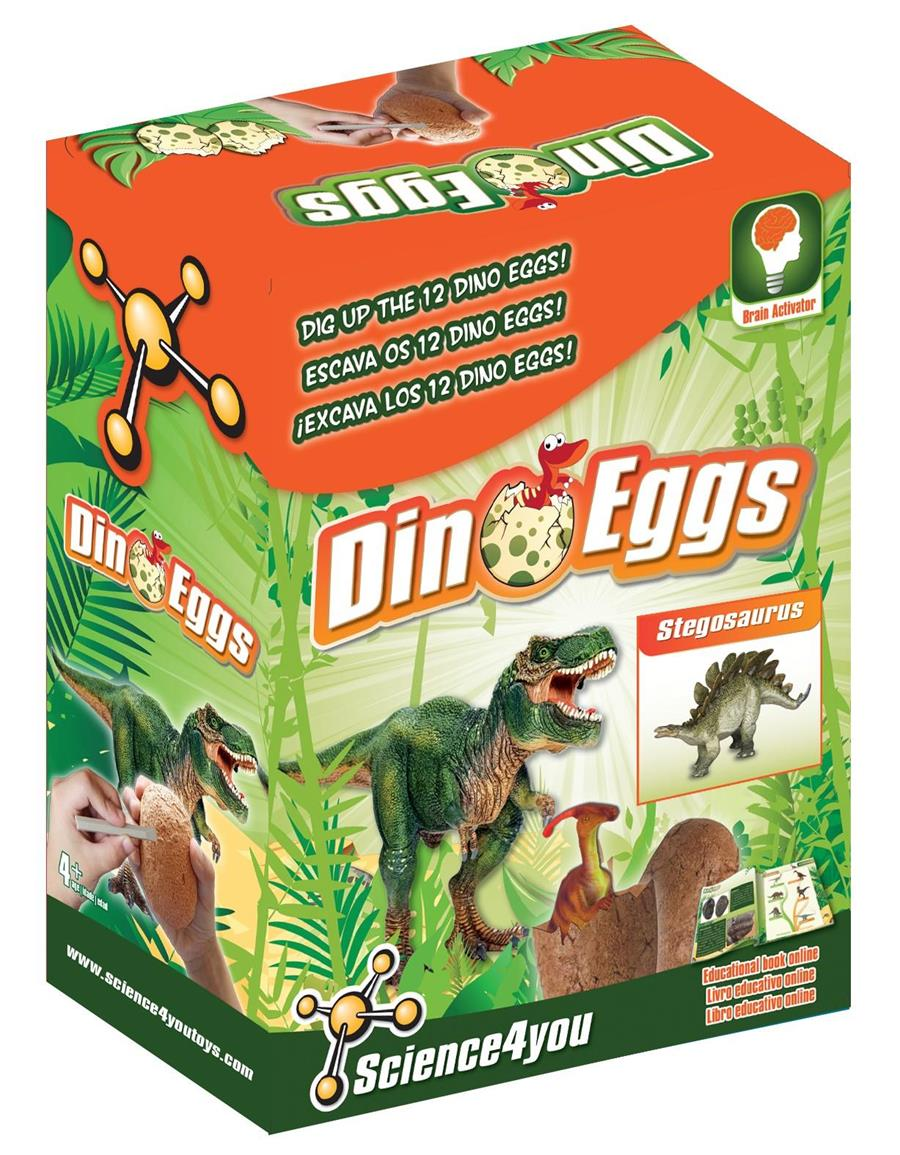 DINOEGGS STEGOSAURUS | 5600310398146 | SCIENCE4YOU