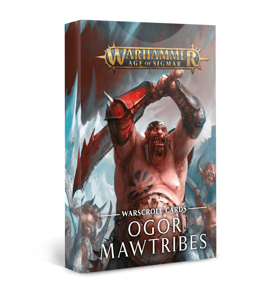 WARSCROLL CARDS: OGOR MAWTRIBES (ESP) | 5011921128501 | GAMES WORKSHOP