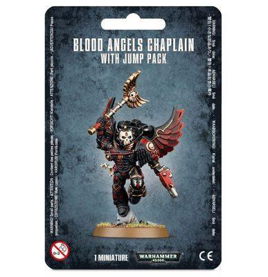 BLOOD ANGELS CHAPLAIN WITH JUMP PACK | 5011921066759 | GAMES WORKSHOP