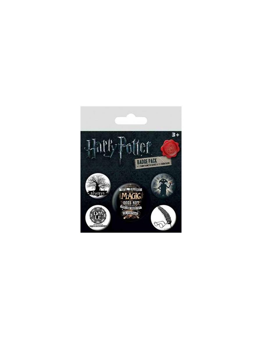 PACK CHAPAS HARRY POTTER | 5050293805313 | VVAA