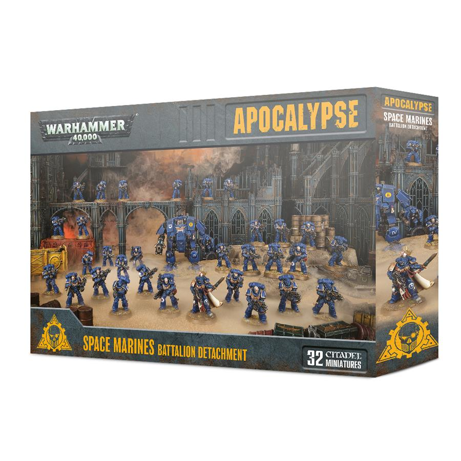 SPACE MARINES BATTALION DETACHMENT | 5011921117840 | GAMES WORKSHOP