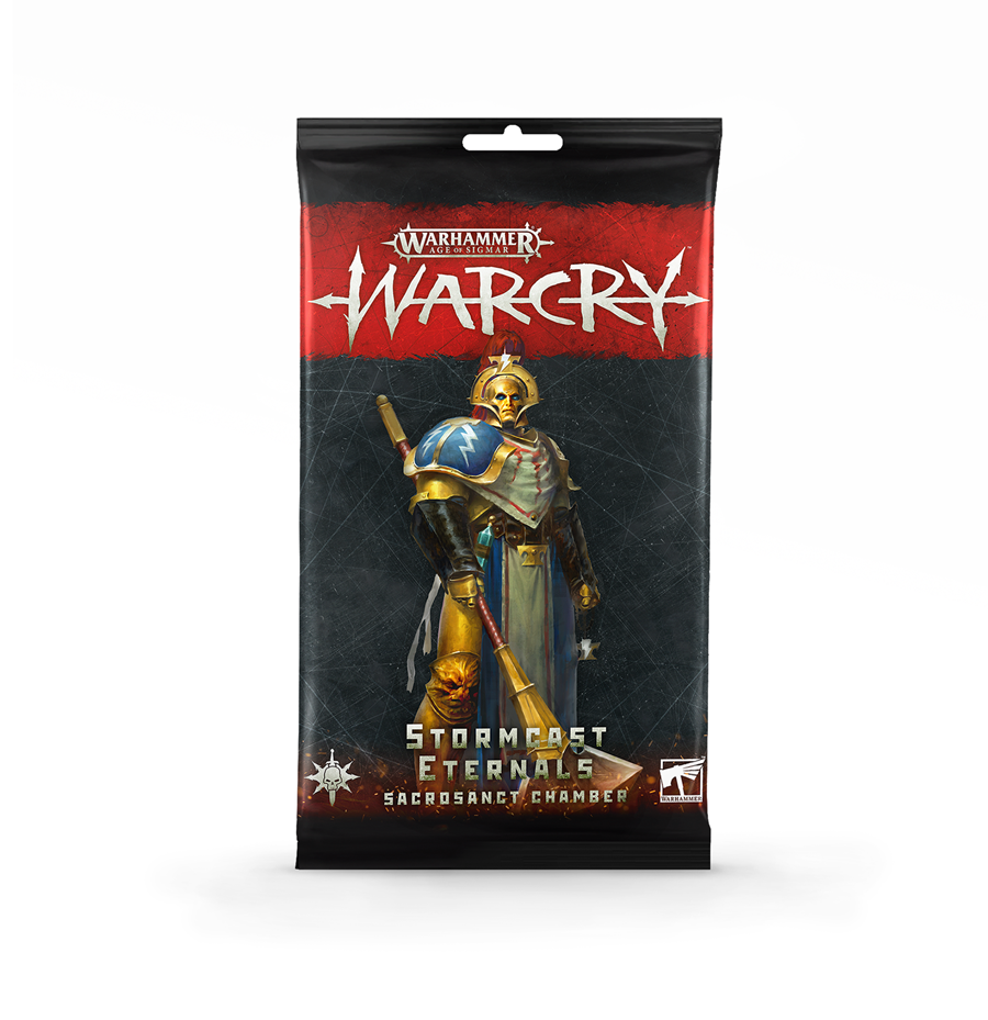 WARCRY: SCE SANCROSANCT CHAMBER CARDS | 5011921137398 | GAMES WORKSHOP