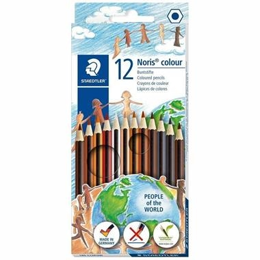 CAIXA 12 LLAPIS COLOR PELL | 4007817051092 | STAEDTLER