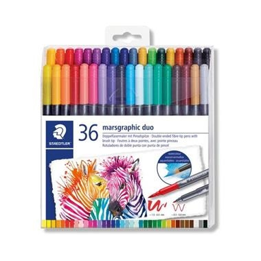 CAIXA 36 RETOLADORS DOS PUNTES LETTERING  | 4007817042847 | STAEDTLER