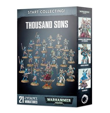 START COLLECTING! THOUSAND SONS | 5011921113224 | GAMES WORKSHOP