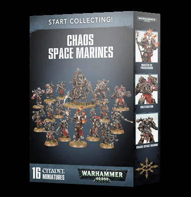 START COLLECTING! CHAOS SPACE MARINES | 5011921125296 | GAMES WORKSHOP