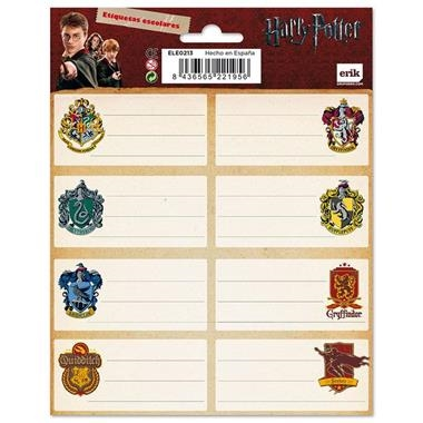 ETIQUETES HARRY POTTER | 8436565221956 | VVAA