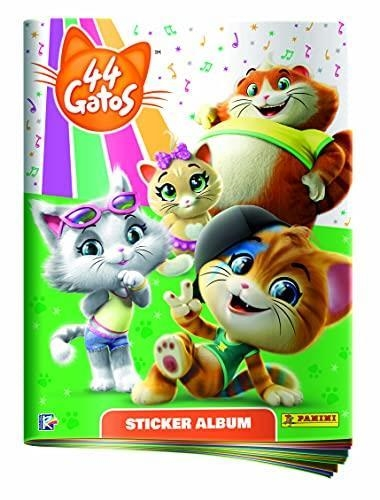 44 GATOS STICKER ALBUM | 8018190015300 | PANINI